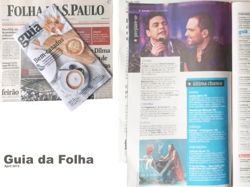 FOLHA DE SAO PAULO  Brazil 2015