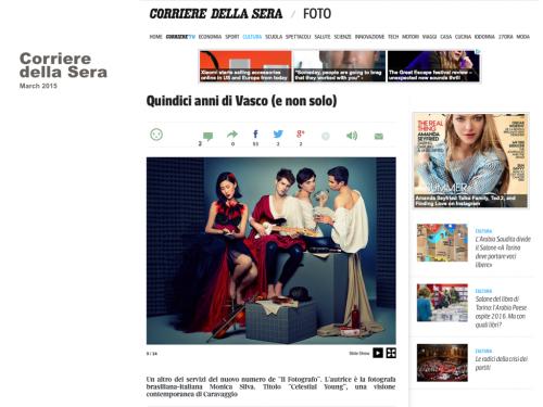 CORRIERE DELLA SERA  ITALY 2015