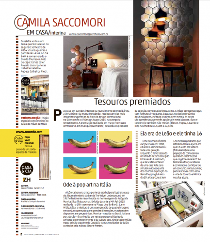 CASA & CO  Magazine Brazil 2015