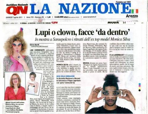 QN LA NAZIONE  Italy 2011