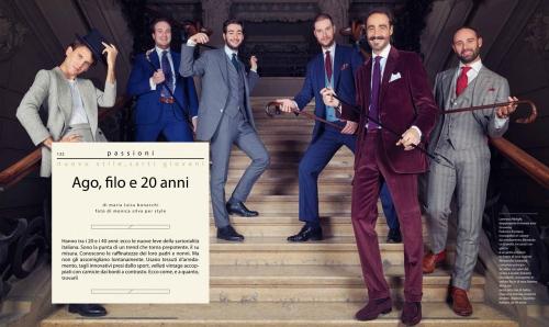 STYLE MAGAZINE  CORRIERE DELLA SERA Italy 2014