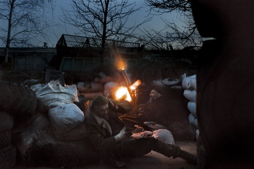 War in Ukraine: On the Front with Right Sector
