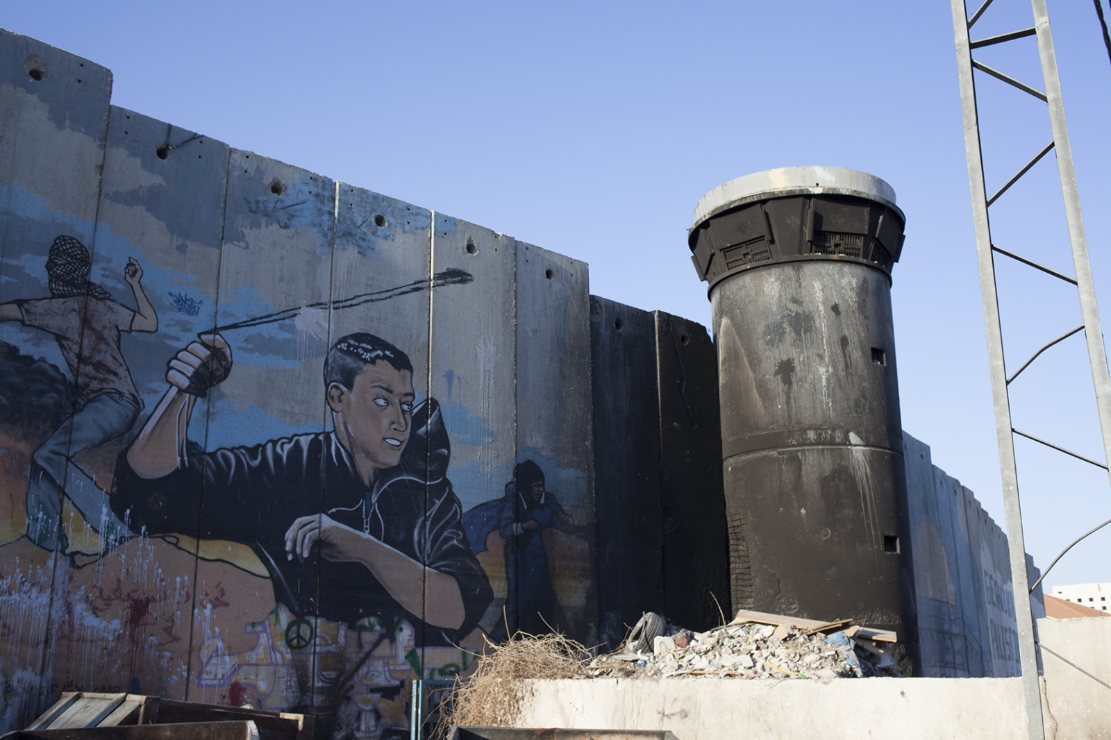 The wall, Bethlehem 2015.