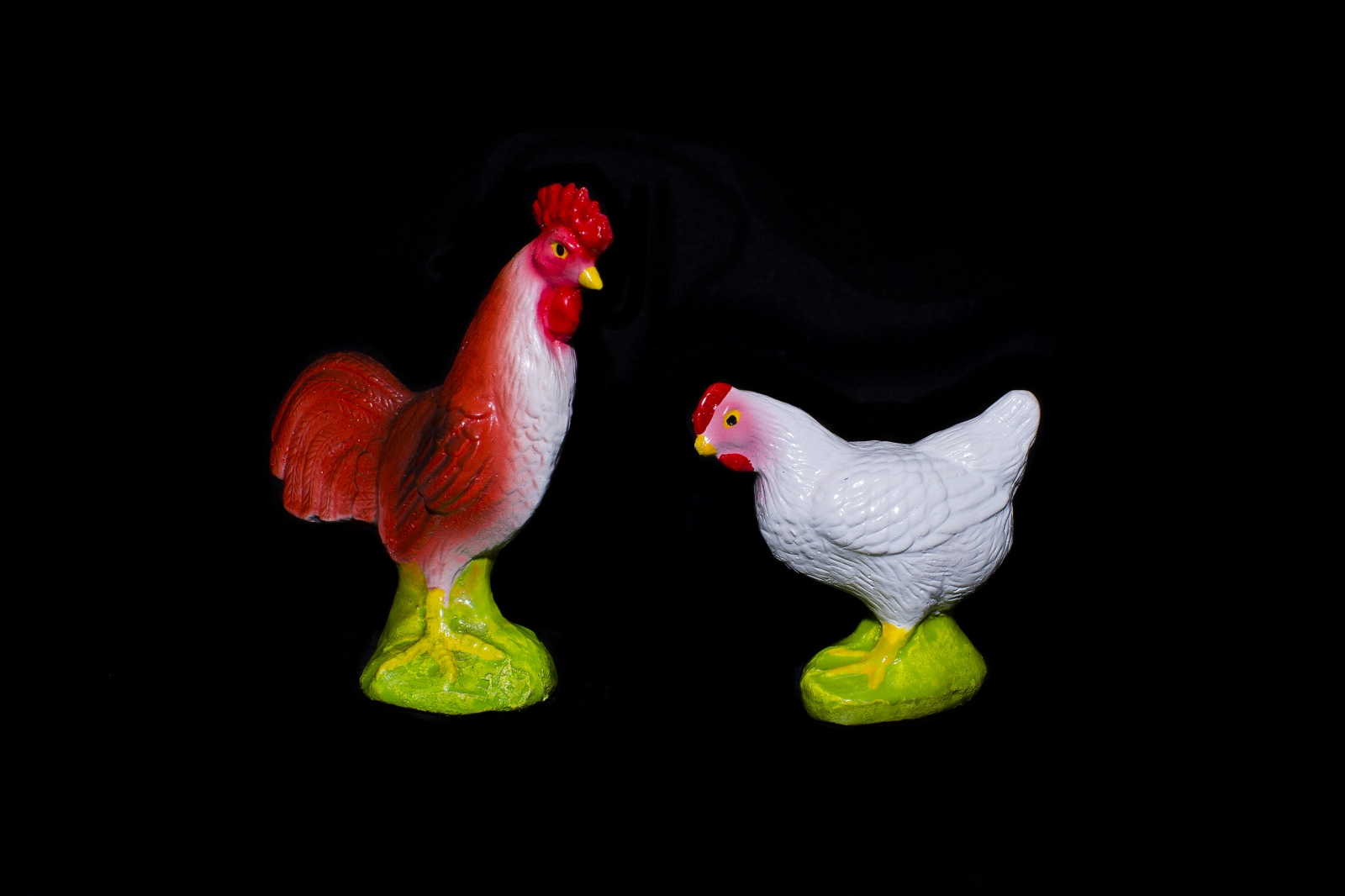 The Rooster and Hen. These animals represent the search for a partner. If you are given a rooster then you will get a boyfriend/groom and if it is an hen you will get a girlfriend/bride. People say that it will only work if the animal is received as a gift and shouldn't be bought by the person looking for a partner.