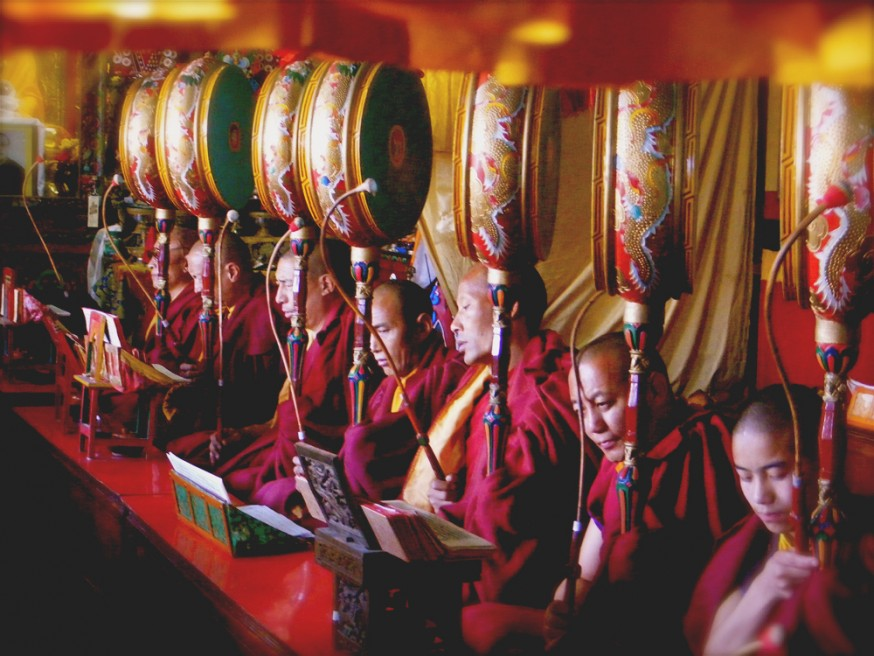 Lhosar, the Tibetan New Year, was celebrated in February.