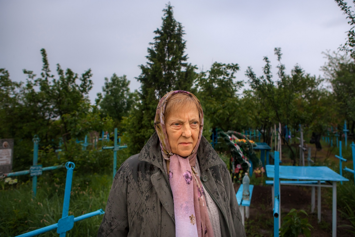 "In Moldova, the orthodox tradition has a holiday called Pastele Blajinilor. Nina and her family go to visit her brother and mother in her parents' home village of Nemteni on the border with Romania. When remembering what happened to her and her family, Nina says, ""May this never repeat… May future generations never go through such unjust events… For this for was an injustice… an injustice… May it never happen again…"" ""So few of us remain… From those who were taken away… Who were so wrongfully taken away. They should give them justice!"" - Nina"