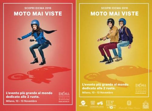 ADV Campaign 2016    Client: EICMA    Agency: Left Loft   Creative Director: Bruno Genovese