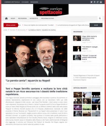 Toni & Peppe Servillo - 2016