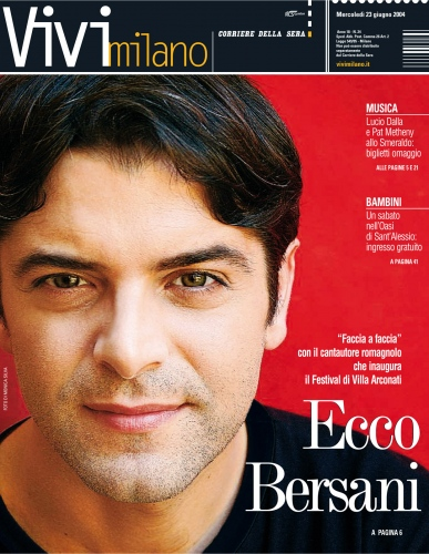 VIVIMILANO  Cover story Samuele Bersani 2008