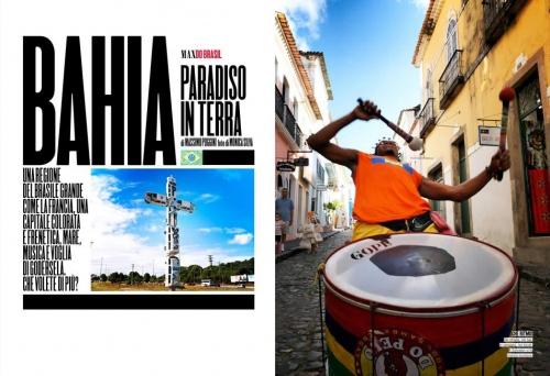 MAX MAGAZINE  Reportage Bahia (Salvador) Brazil 2011