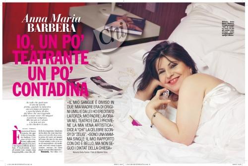 CHI MAGAZINE  Annamaria Barbera Mondadori 2013