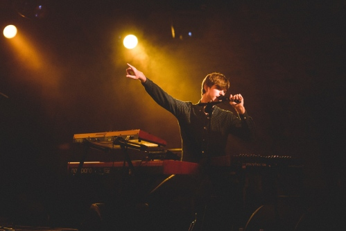 James Blake @ The Arches, Glasgow