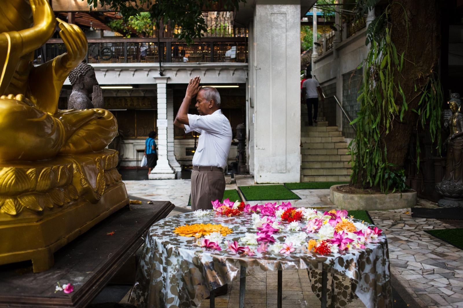 Gangaramaya Temple, Colombo.