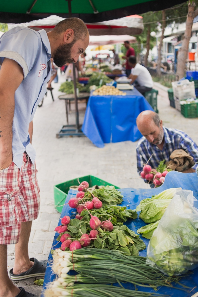 Market near Cesme.