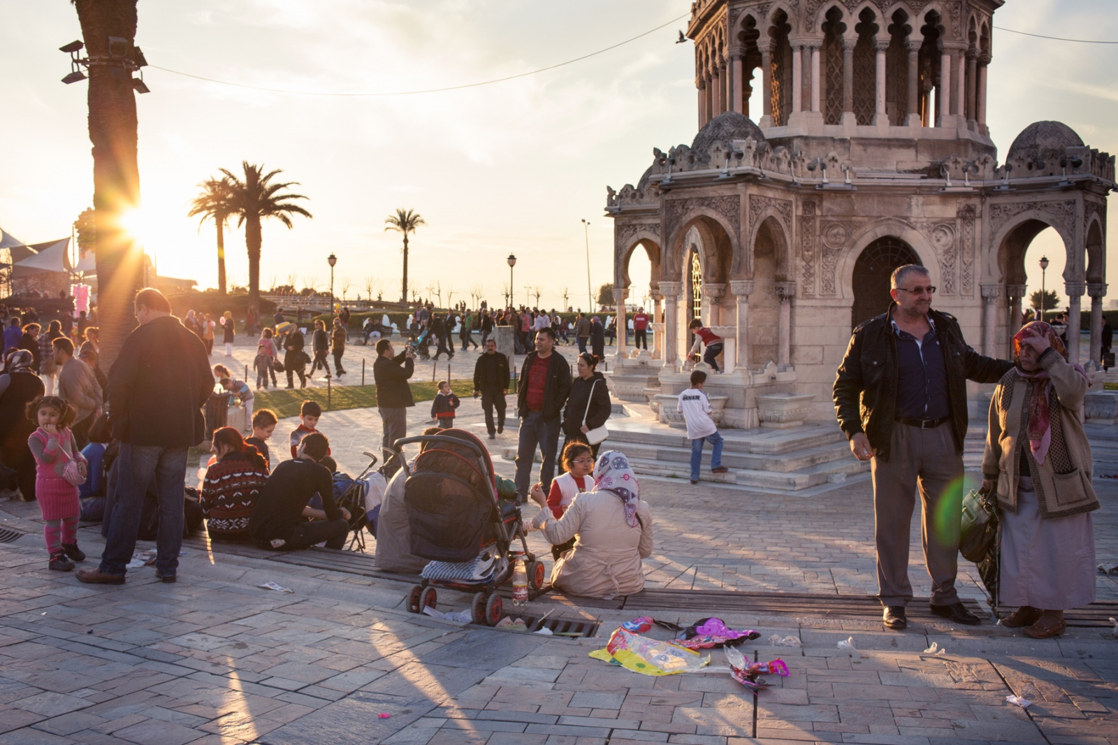Konak Square, Izmir.
