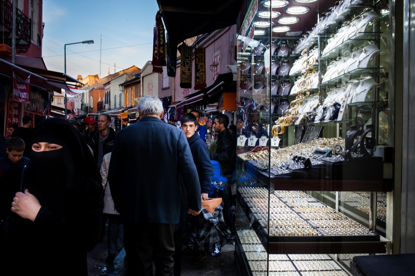 Kemeralti market, Izmir.
