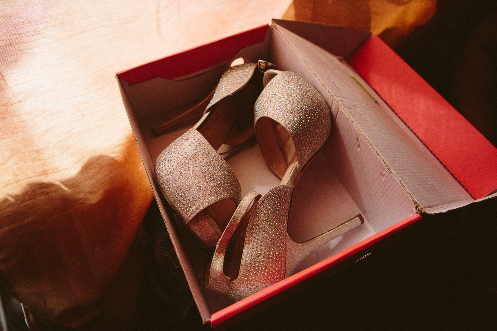 Fey's prom shoes.
