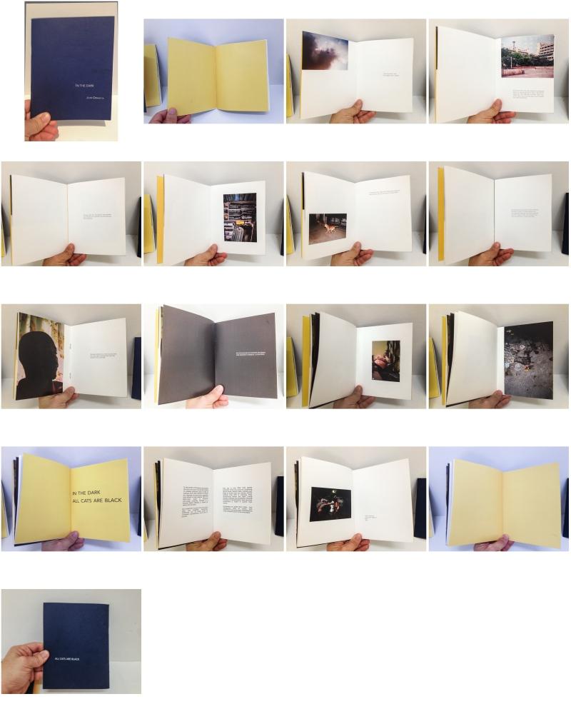 Khoj, New Delhi, 2015. (Residency program, Coriolis Effect). Artist book for exhibition.