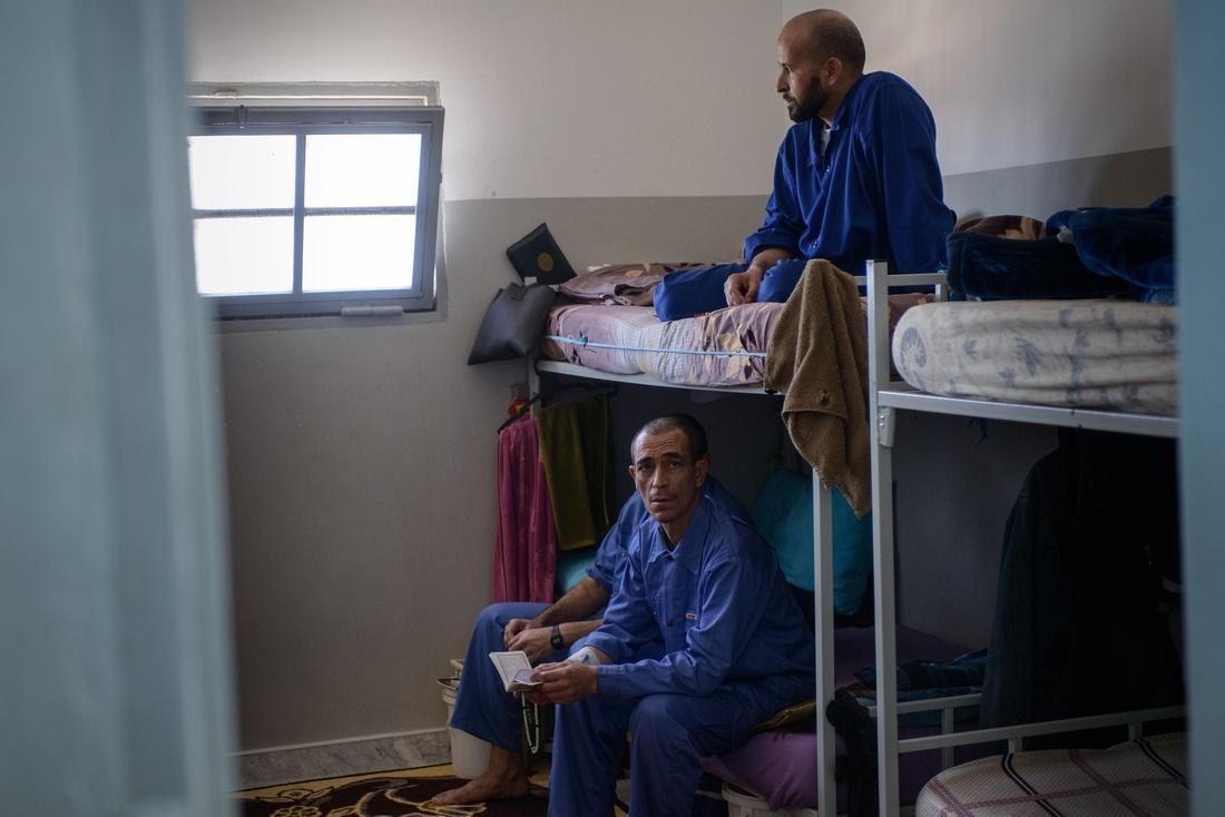 Misrata, Libya - Former Gadaffi loyalists.