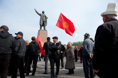 Protest. Osh, Kyrgyzstan. November 2011.