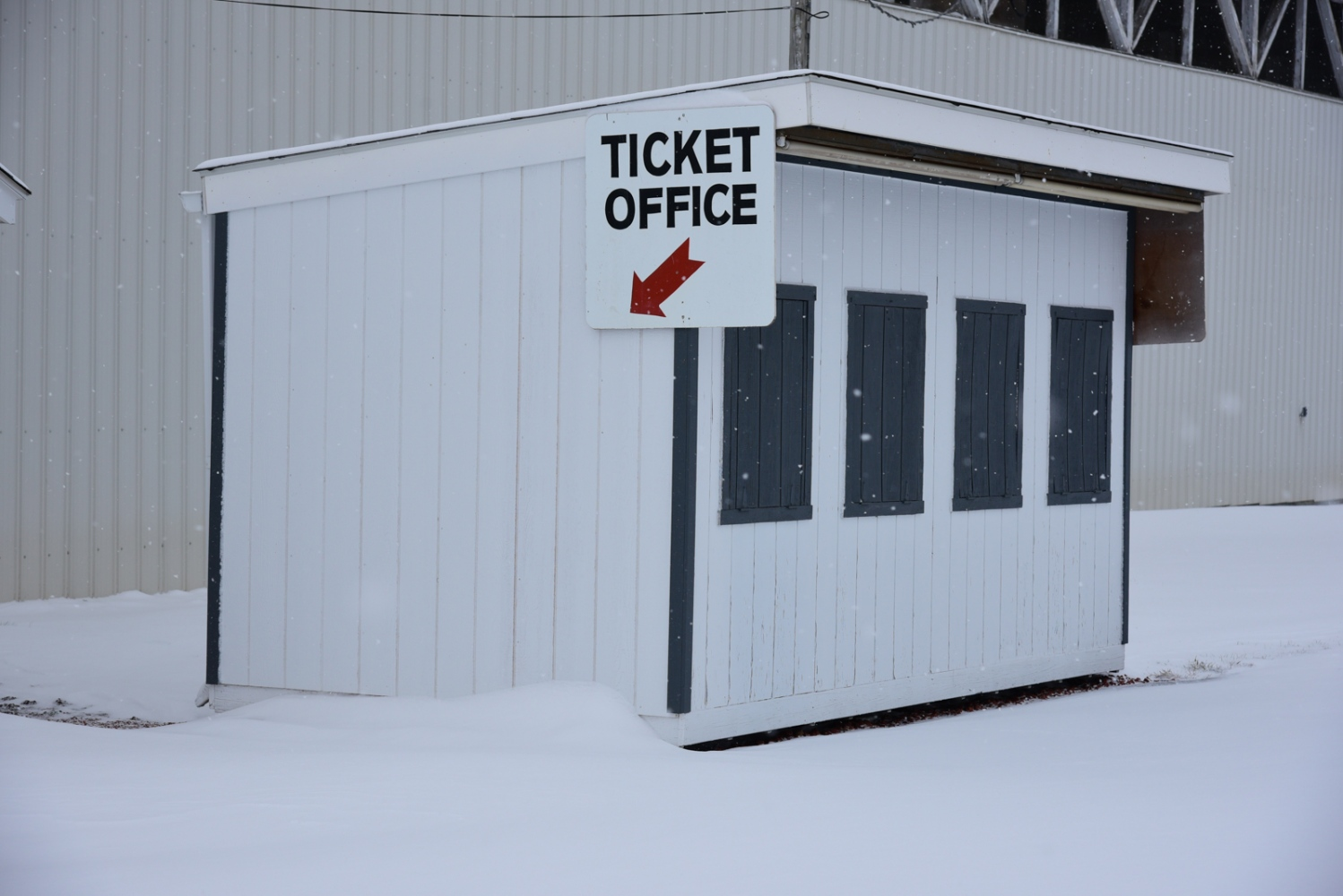 Ticket Office, December