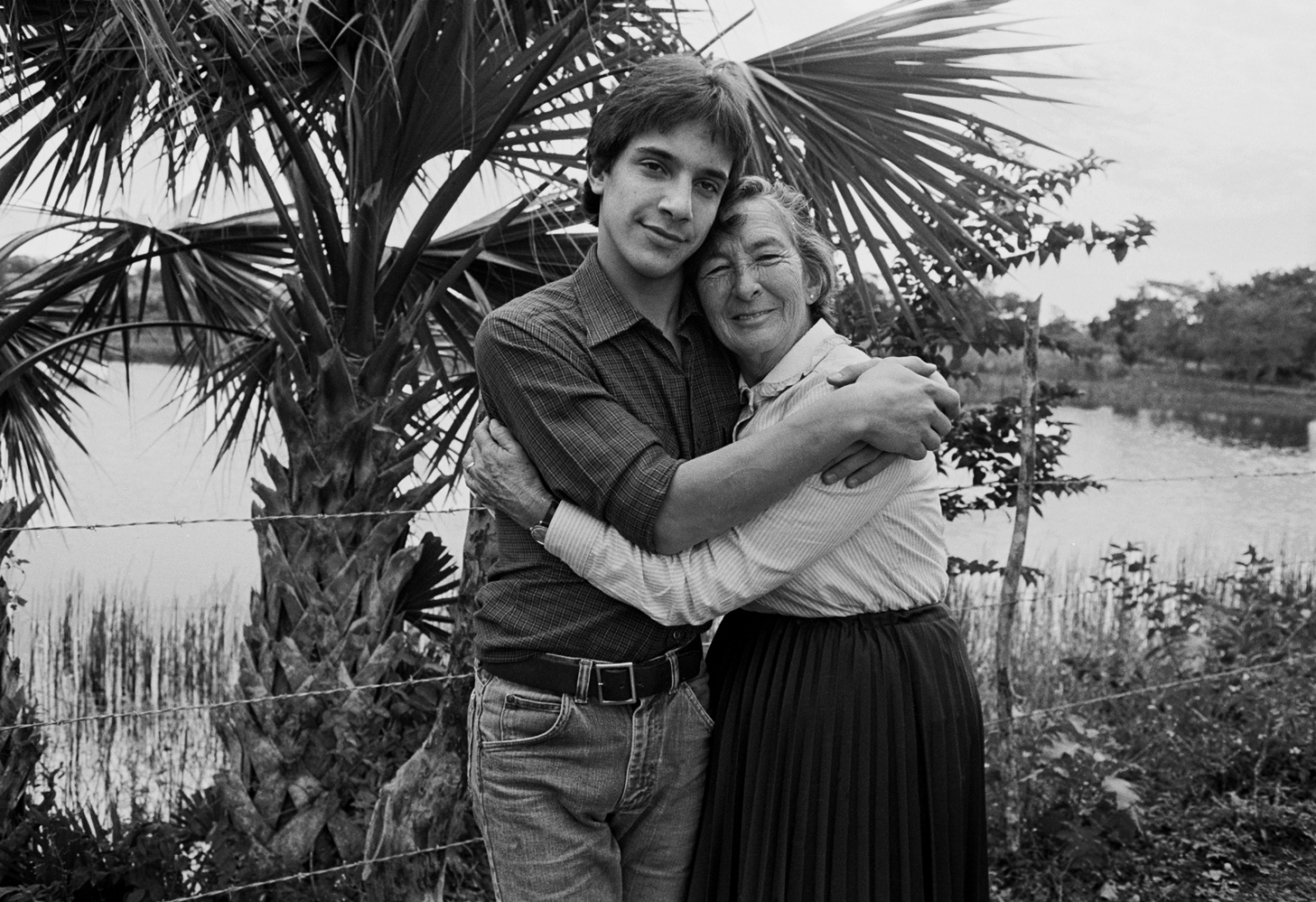 Simón (my son) with his god mother Sara 1979 ©Sylvia de Swaan