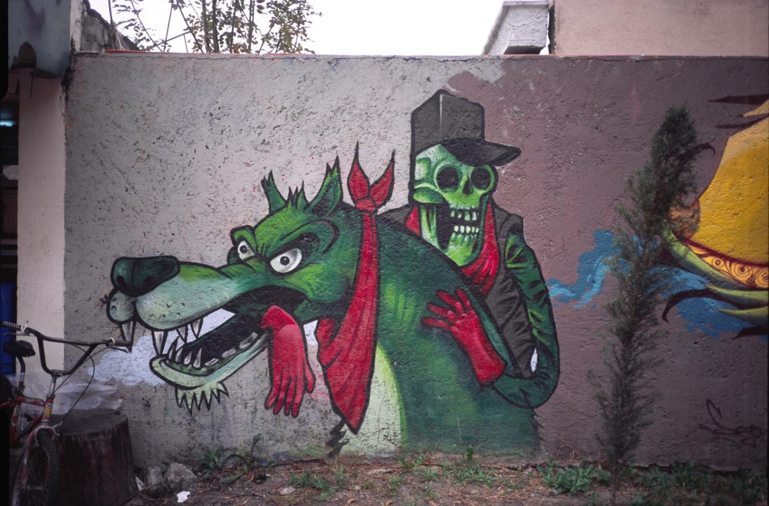 Graffiti, Colonia Jardin Balbuena, Mexico, D.F. 2010