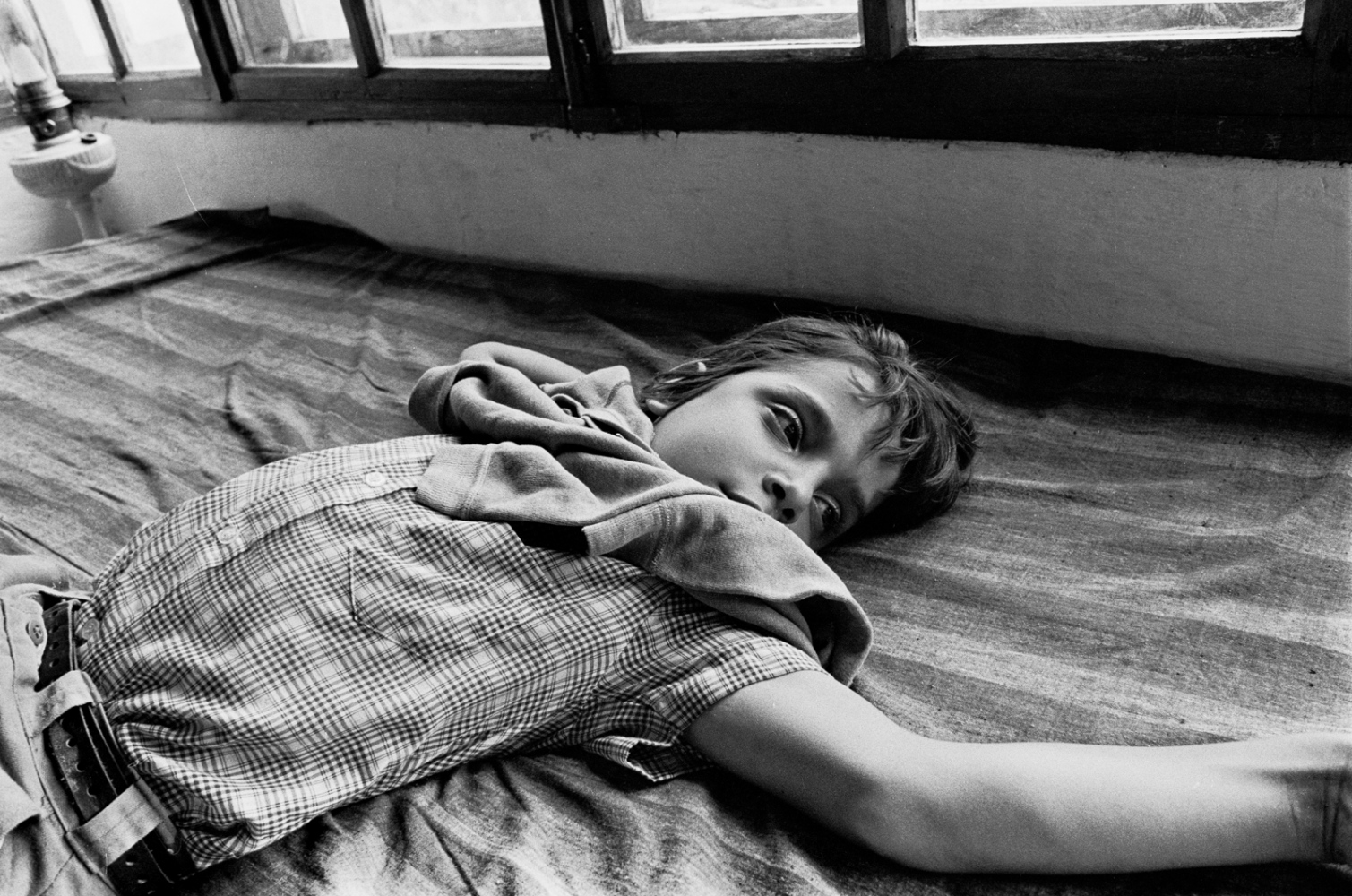 Simón so bored, waiting for the excitement to start, Rancho Bejuco 1974©Sylvia de Swaan