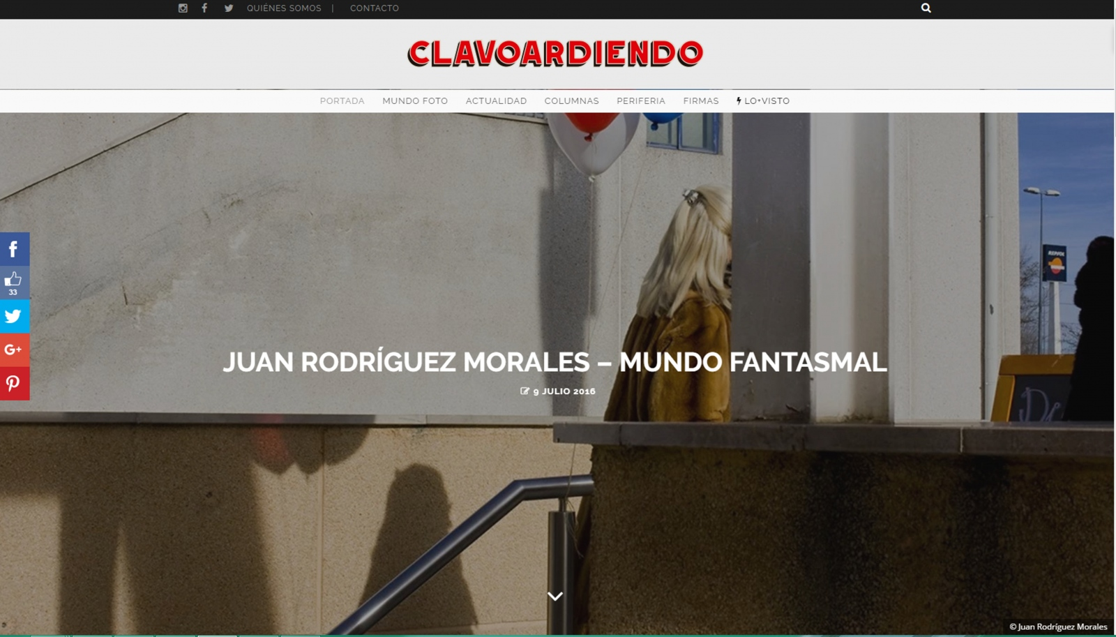 Art and Documentary Photography - Loading clavoardiendo.jpg