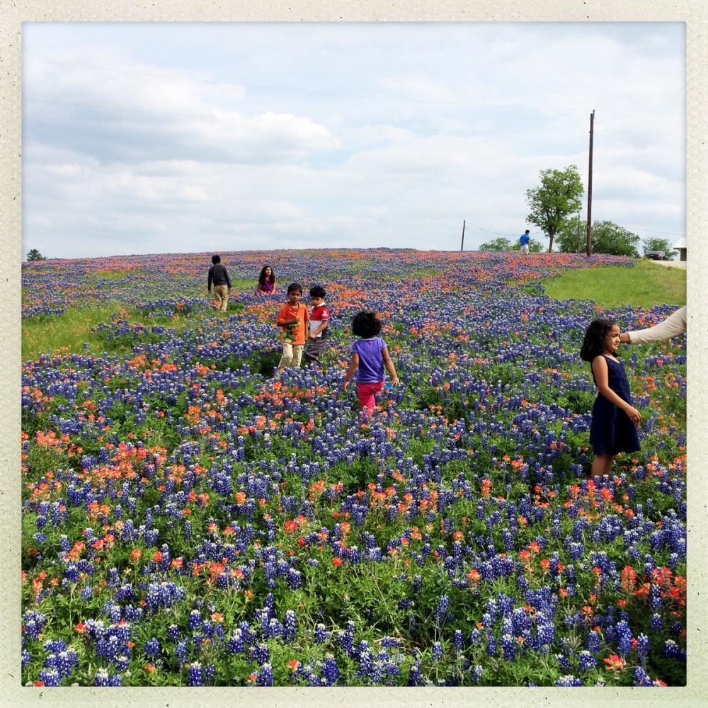 Outside of Austin, Texas