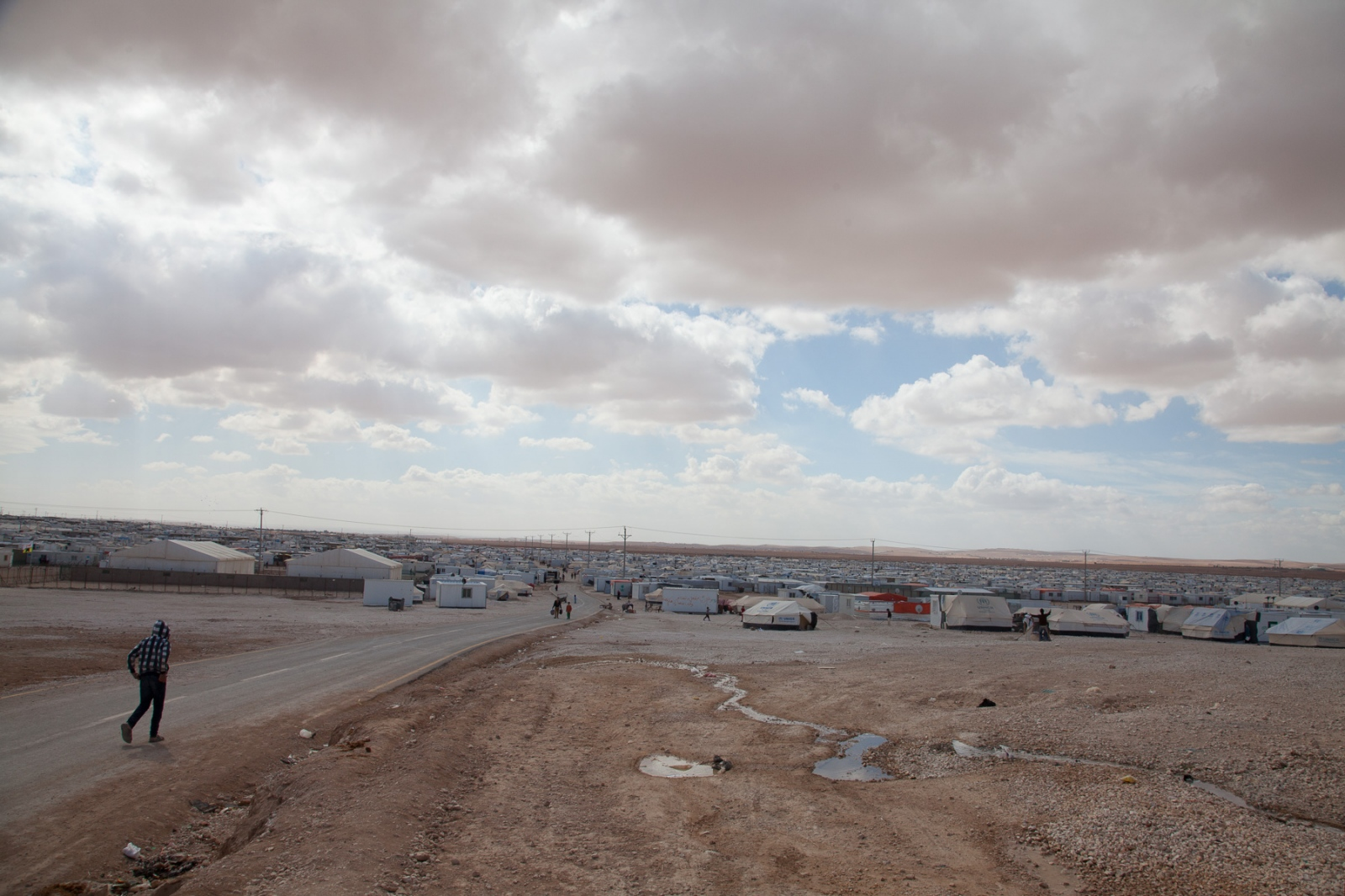 Jordan is one of the water poorest countries in the world and providing for the influx of refugees has put a major strain on its resources and economy.