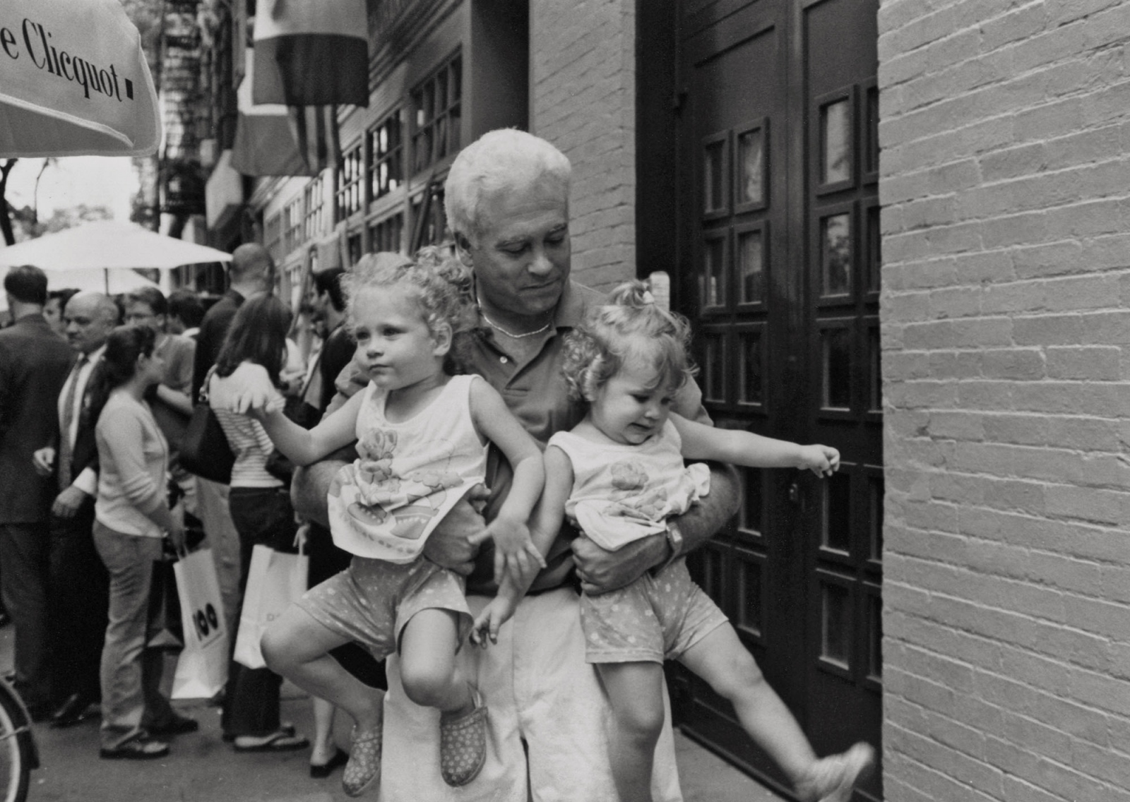 ALAN, TONI, and CHASE OLSTEIN  New York City 1998