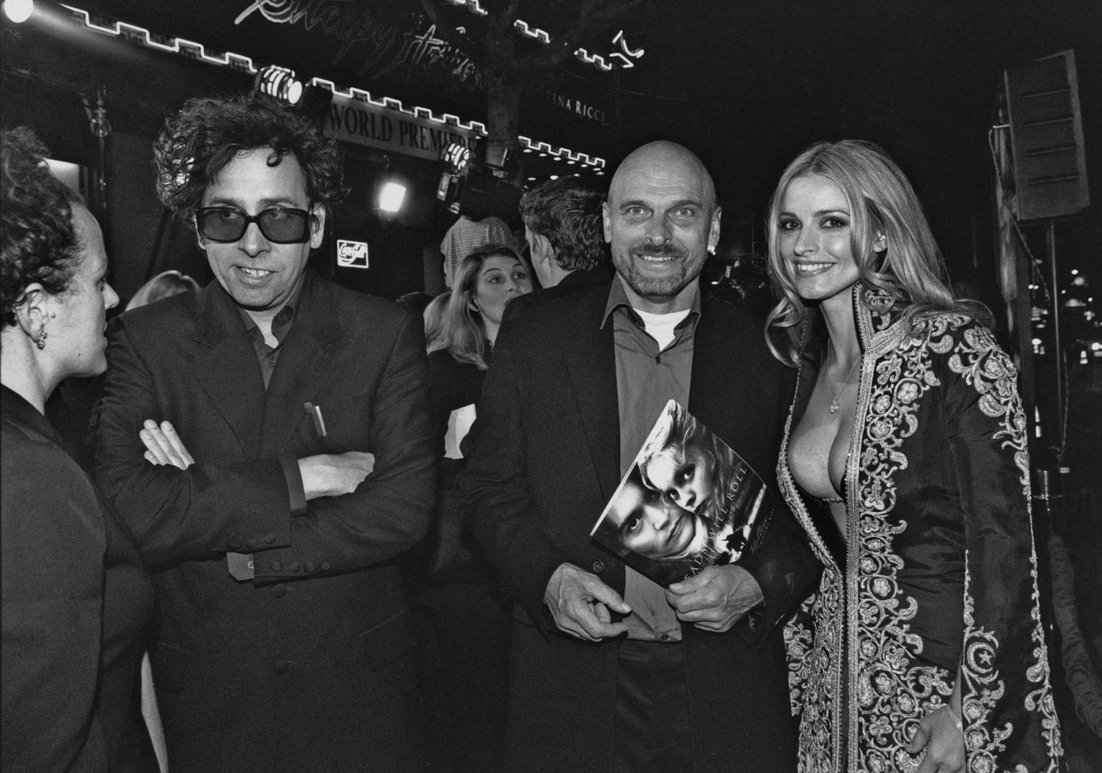 CORKY SMITH and LISA MARIE    Premiere of Tim Burton's  Sleepy Hollow , Hollywood, California 1999