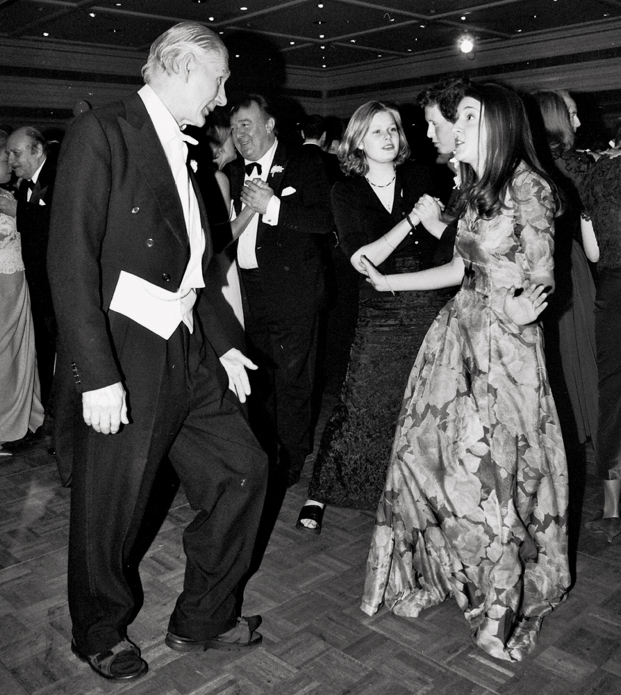 SIR JOHN and SUZI BARRAN  Rose Ball, London 1999