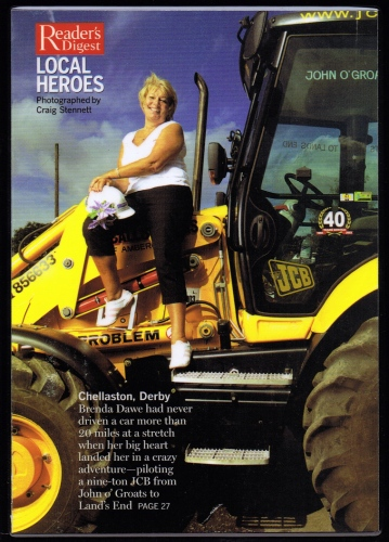 'Heroes'-Feature photograph for Readers Digest (UK)    England
