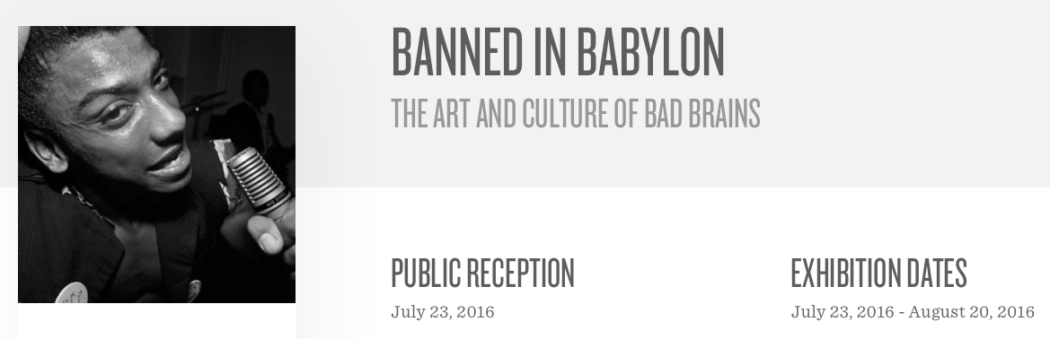 Click here for more information about the LA exhibition Banned in Babylon featuring work from HARD ART DC.  Vice's review of the exhibition