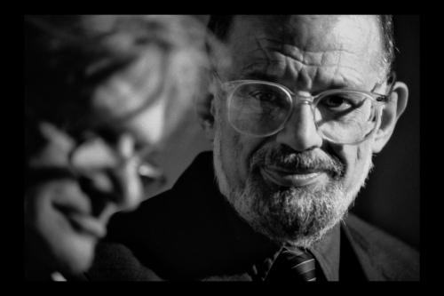 Gregory Corso & Allen Ginsberg