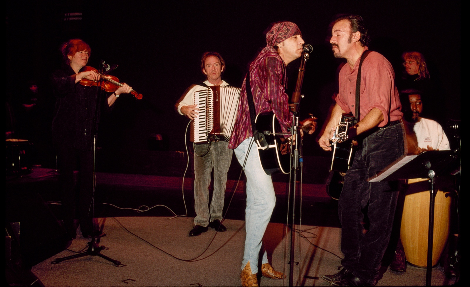 Bruce Springsteen & the E Street Bandon the Ghost of Tom Joad Tour, 1996