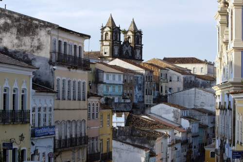 Pelourinho District of Salvador Project: Portuguese Barroque Salvador - Brazil