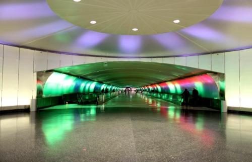 Detroit Metropolitan Wayne County Airport Project by:Louis G. Redstone Detroit - USA
