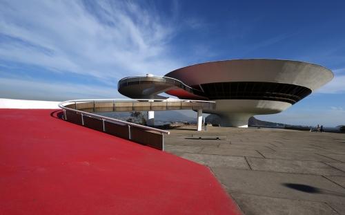 Contemporary Art Museum of Niterói - (MAC) Project by: Oscar Niemeyer Niteroi - Brazil