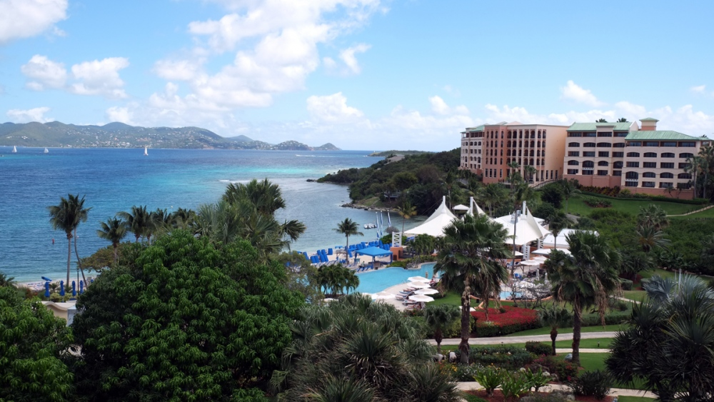 Ritz-Carlton Hotel in St. Thomas, U.S. Virgin Islands.