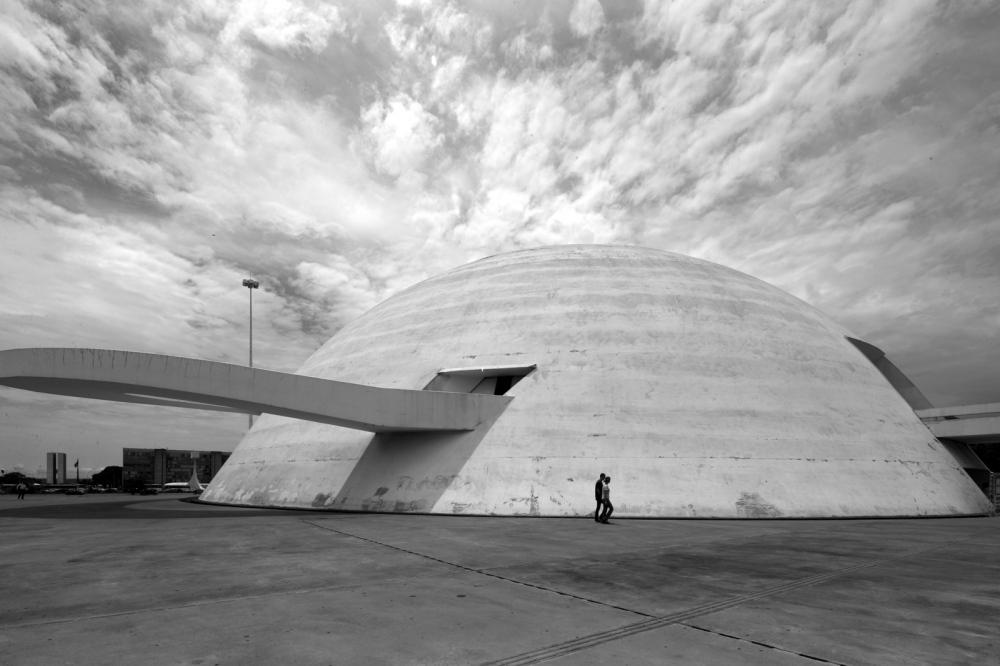 Museu Nacional  Honestino Guimarães Project by: Oscar Niemeyer Brasilia - Brazil
