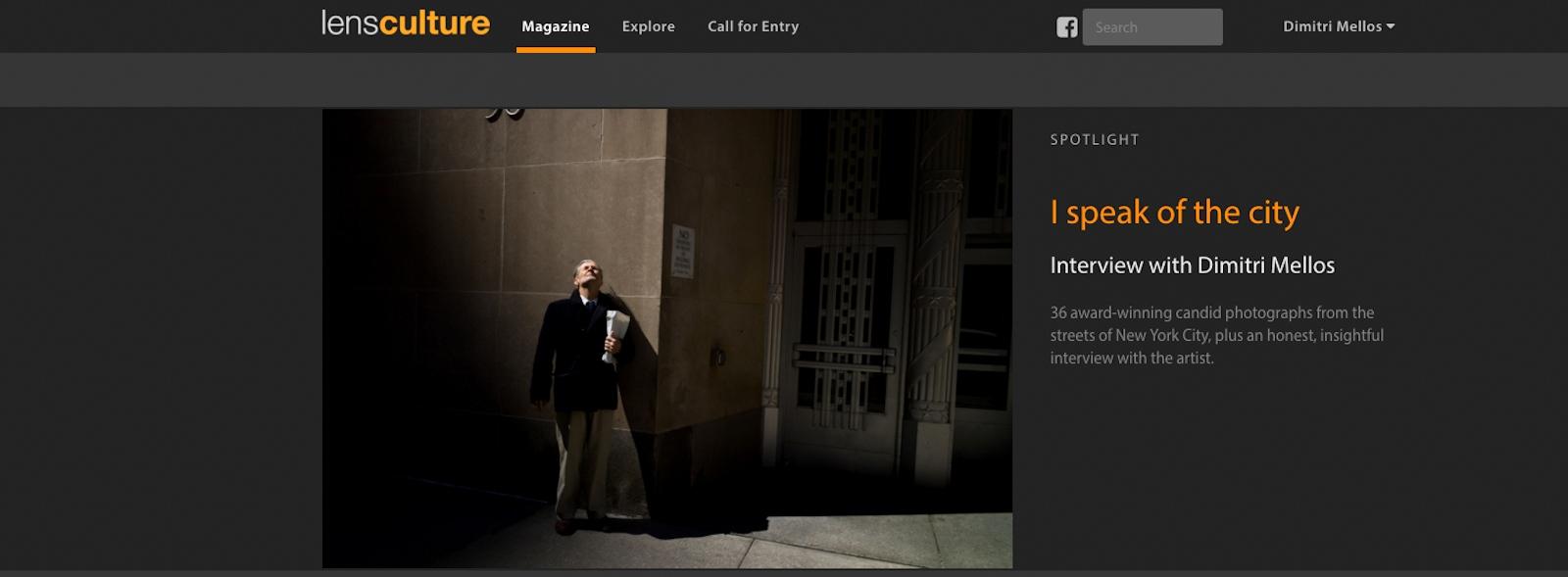Art and Documentary Photography - Loading lensculture_screenshot.jpg