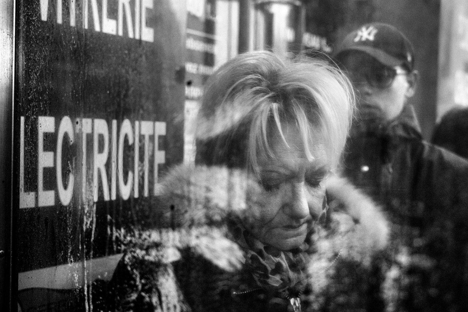 An old woman prays for the victims of the terrorism attacks. Paris, France. 14/11/2015.The aftermath of the terrorism attacks in Paris on 13.11.2015. At approximately 21:36, two attackers fired shots for several minutes at the outdoor terrace of the restaurant La Belle …quipe on the Rue de Charonne in the 11th arrondissement before returning to their car and driving away. Nineteen people were killed and nine were left in a critical condition.