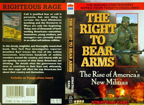 Book - Right to Bear Arms - USA 2003