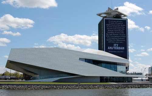 The EYE Museum located in the Overhoeks neighborhood of Amsterdam.