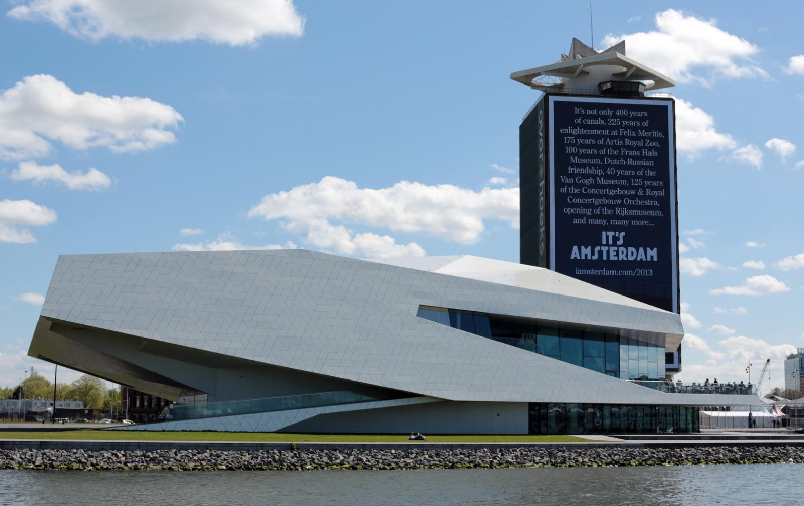 The EYE Museum located in theOverhoeksneighborhood ofAmsterdam.