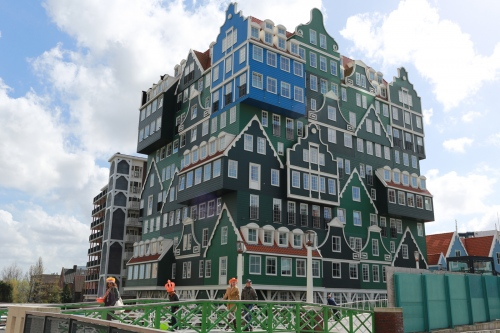Zaandam was a leading city in the first Industrial Revolution.