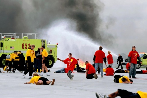 Terrorists Attack Midway Airport, Chicago, 2003